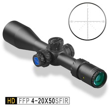 Discovery HD 4-20X50 SFIR DLTW FFP IR-MIL First Focal Plane Hunting Tactical Shooting riflescope Illumination rifle scope