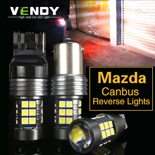 2x W16W 921 T15 W21W 7440 Canbus светодиодный резервного копирования свет авто лампа для Mazda 3 Axela 6 8 CX-5 cx5 cx 5 Atenza 323 MX5 CX3 RX8