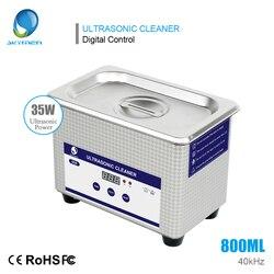 SKYMEN ультразвуковой очистки ювелирных изделий 800 мл 35 Вт инструментов для маникюра ювелирные очки инжектор часы зубной CD кисти ванны