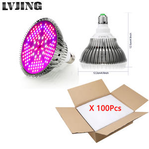 Grow-Light Full-Spectrum Greenhouse Vegetable Hydroponic Indoor-Plants 100W LED for E27