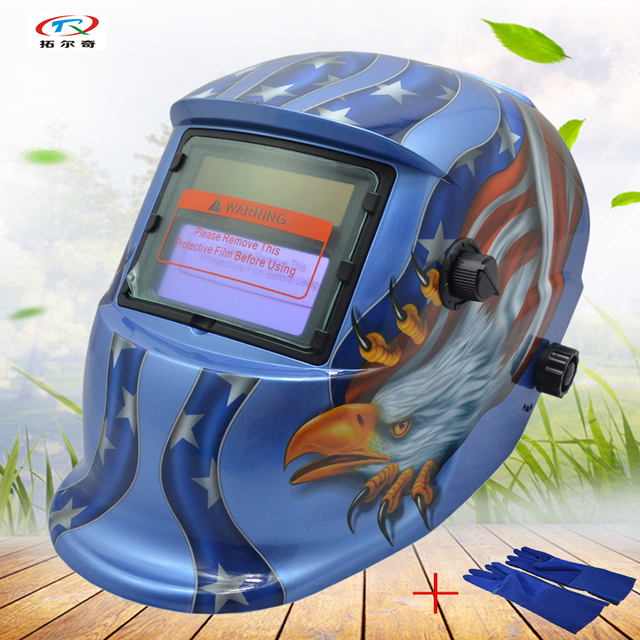 Auto Darkening Welding Helmet Adjustable Best Solar Battery Welding