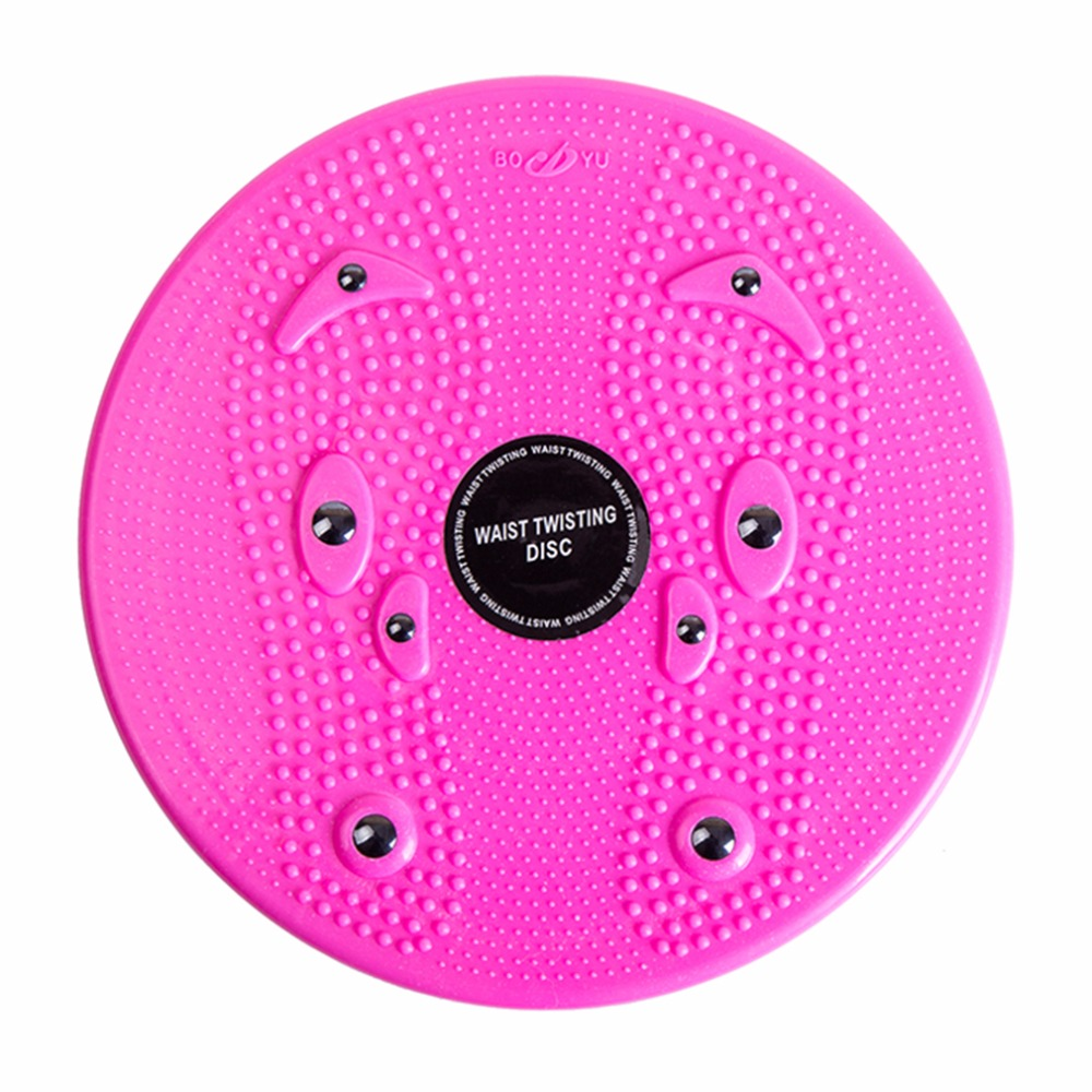 Practical Twist Waist Torsion Disc Board Magnet Aerobic Foot Exercise Yoga Training Heal ...