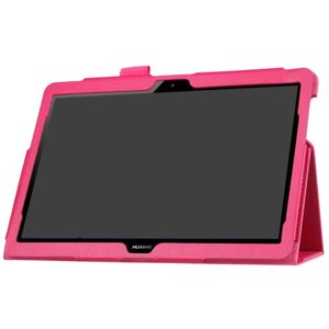 Image 4 - For Huawei Media Pad MediaPad T3 10 AGS WO9 AGS L09 9.6 inch Honor Play Pad 2 Cases Leather Smart Texture Tablet Cover