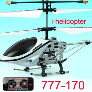 Mode i-helicopter 777-170 3CH mini iphone controlled helicopter W/Gyro p2