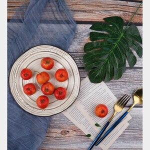 Image 4 - Wood grain Paper Desktop Shooting Photography Background Decorative Nostalgic Gauze Photo Studio Accessories for Toiletries Food