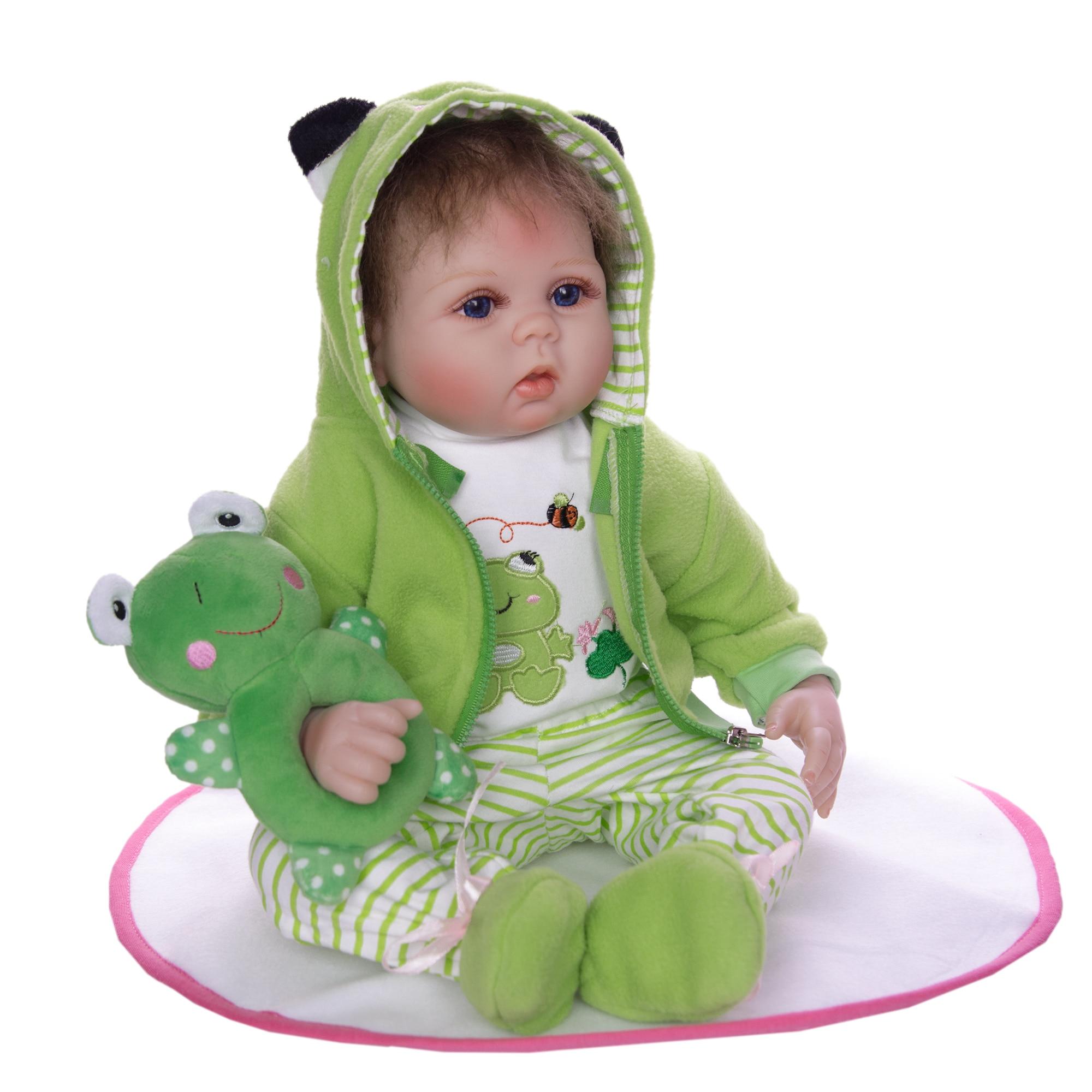 KEIUMI ซิลิโคนนุ่มตุ๊กตาเด็กทารก Reborn 55 ซม.ของเล่นสำหรับ Reborn Boneca ตุ๊กตาวันเกิดของขวัญเด็กก่อนนอน Early การศึกษา-ใน ตุ๊กตา จาก ของเล่นและงานอดิเรก บน   2