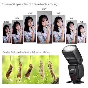 Image 4 - YONGNUO YN565EX III lampy błyskowej Speedlite bezprzewodowy TTL Slave Flash Speedlite do canona lustrzanka cyfrowa w/GN58 wysokiej prędkości System recyklingu