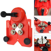 Saw-Cutter Drill-Bit Glass-Hole Diamond-Opening Adjustable with Vacuum-Base Sucker 4-83mm