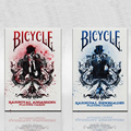 Bicycle Karnival Assassins poker Carnival imported American bicycle magic Playing Card Tricks Blue Or Red Color 83092