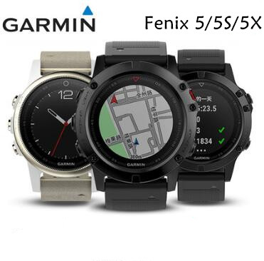 Garmin Fenix 5 5S 5X HR fenix5S/5/5X Smart Watch English Sapphire Edition GPS Multisport Watch Running Swimming Update Fenix 3