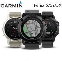 Garmin Fenix 5 5S 5X HR fenix5S/5/5X Смарт часы Английский сапфир Edition gps мультиспорт часы Бег Плавание обновление Fenix 3