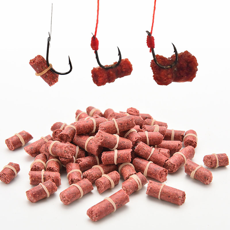 1/2/3/4/5 Bag/Lot Red Grass Carp Baits Sweet Potatoes Powder Fishing Baits Fishing Lures image