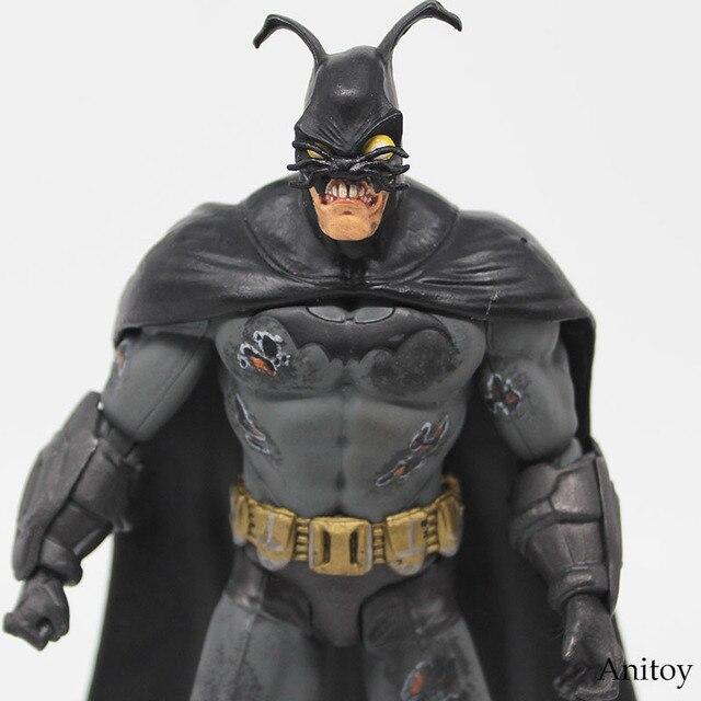 Batman Figura Toy Figura Super-heróis da DC Comics Batman Colecionáveis Móvel Super Heroes Ação PVC Figuras Brinquedos para Meninos 18 cm