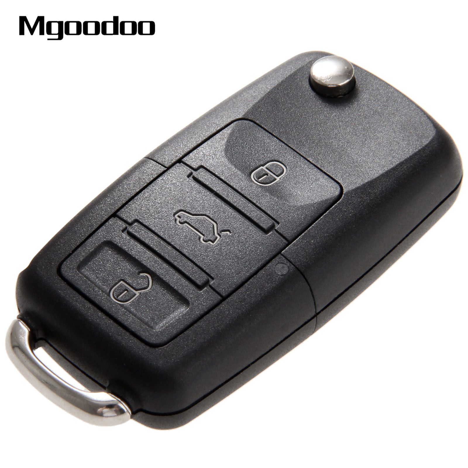 Mgoodoo Flip Folding Remote Car Key Shell Auto Replacement Key Case Covers Uncut Blade For VW Volkswagen Bora Golf MK4 2 Buttons in Car Key from Automobiles Motorcycles