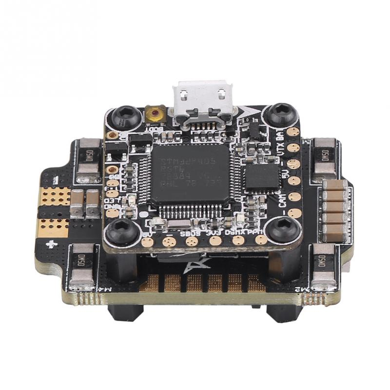 Hot Sale VX20 Flytower F4 Flight Controller Blheli32 <font><b>25A</b></font> <font><b>ESC</b></font> For FPV Racing Quadcopter High Quality Flight Controller RC Part image