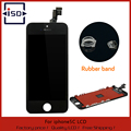 For Apple iPhone 5C Black Display LCD With Touch Screen Digitizer &Rubber Band & Frame Cove & Open Tools &Free shipping