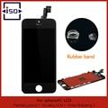 Para a apple iphone 5c black display lcd com tela de toque digitador & Rubber Band & Frame Enseada & Abra Ferramentas & Livre grátis
