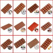 SILIKOLOVE Schokolade Formen Kuchen Dekorieren Werkzeuge 3D Candy Gummy Silikon Form Dessert Form DIY Backen Cookie Tray Für Kuchen Handwerk