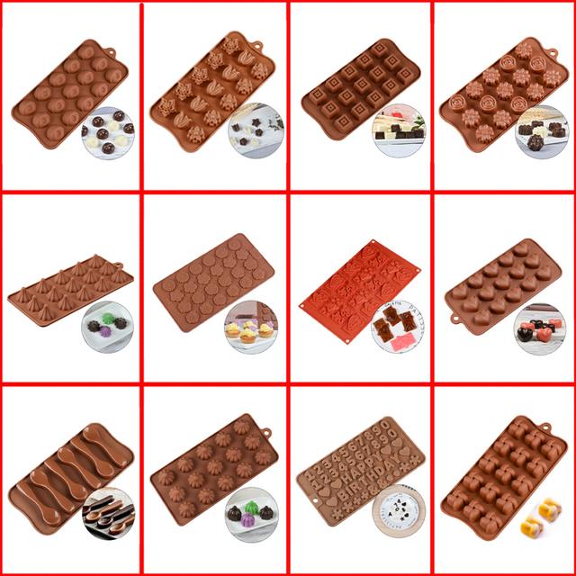 Silicone Baking Chocolate Molds