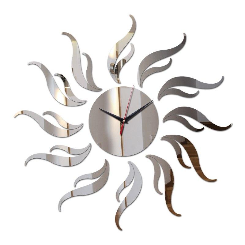 っnowy Przyjazd Diy Zegar ścienny Naklejki Dekoracji Salonu
