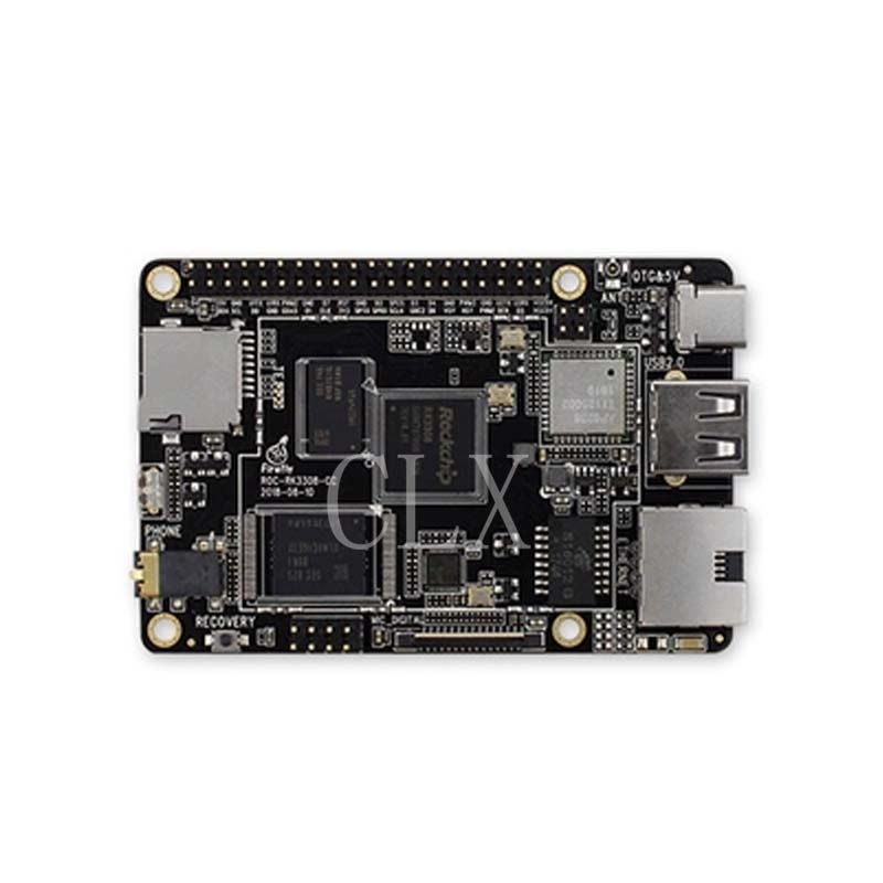 ROC-RK3308-CC Development Board RUI Core Micro Quad Core 64-bit Aiot Motherboard Speech Recognition