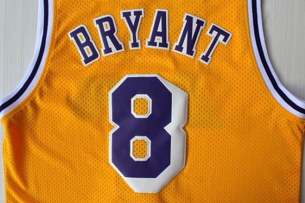 low priced 743fb 5362c Kobe Bryant Jersey Red White Yellow Purple Black 8# 24# 33 ...