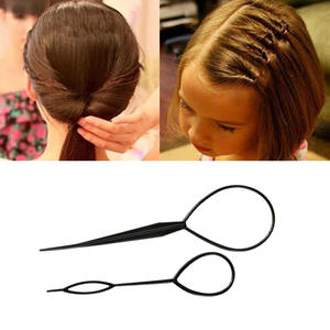 M MISM 2PCS Hair Style Maker Hair Styling Tools Hair Accessories Hair Pin Disk For Women Girls Kids DIY Pull Pins