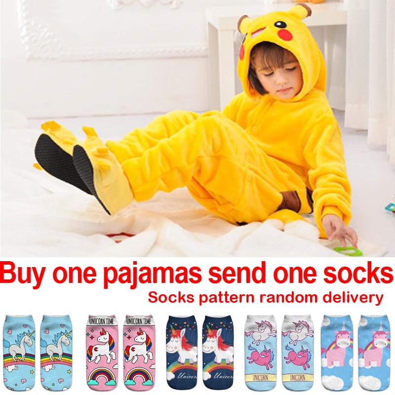 Pokemon Pyjamas Kids Onesie Косплей мультфильм Девушки Пижамы Фланелевые Мальчики Пижамы для взрослых Подростки детские Пижамы Пикачу