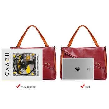 women shoulder bag designer handbag women genuine leather tote bag