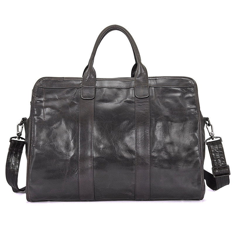 A Original Design Men\'S First Layer Cowhide Portable Retro Large Capacity Travel Bag 7324