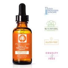 Pretty Cowry face serum Hyaluronic acid Anti Wrinkle vitamin c skin care 30ml Re