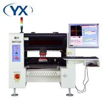 رؤية التلقائي ثنائي الفينيل متعدد الكلور آلة دليل LED ماكينة استبدال المكونات باستخدام تقنية التركيب السطحي SMT550 الناقل + 50 مغذيات