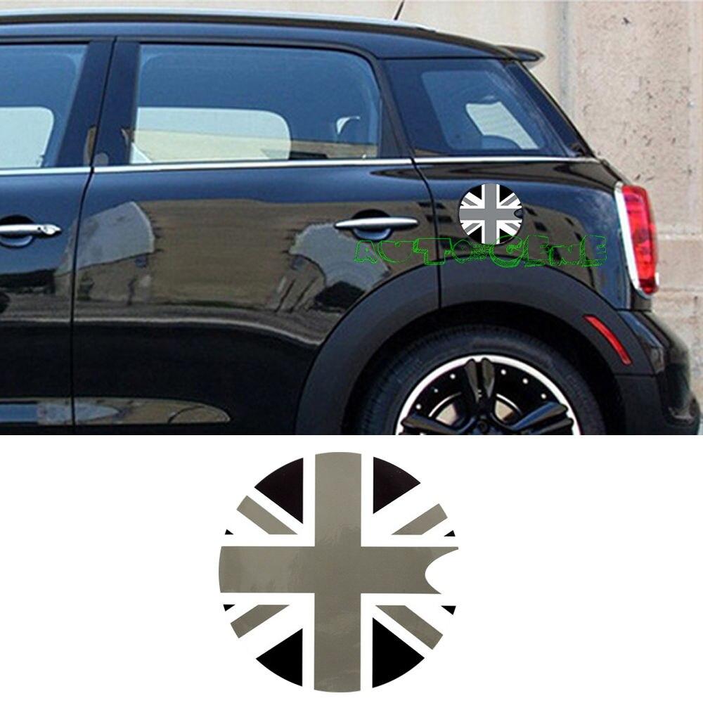 Bumper sticker creator uk - Black Union Jack Uk Flag Pattern Vinyl Sticker Decal Mini Cooper Gas Cap Cover