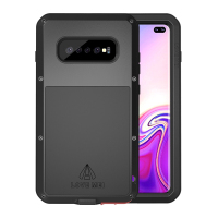 360 Case For Samsung Galaxy S10 Plus S10E Shockproof Full Body Glass Hybrid Armor Cover sFor Samsung S10Plus Case Metal S 10E