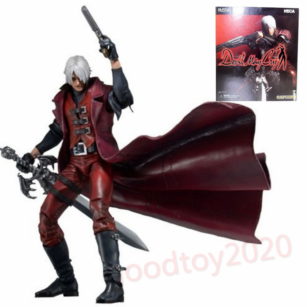 Devil May Cry Ultimate Dante 7 Action Figure NECA Alastor INSTOCK NE031001 devil may cry 4 dante cosplay wig halloween party cosplay wigs free shipping