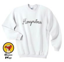 Honeymoonin Honeymoon Sweatshirt - Vacation Wedding Hubby Wifey Love Bride Womans C014