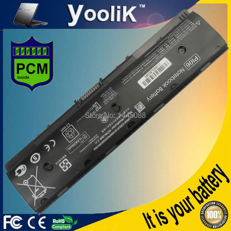 PI06 Laptop Battery For Pavilion 14 15 H6l38aa 710417-001 Pi06 Notebook Series Hstnn-yb4o HSTNN-YB4N