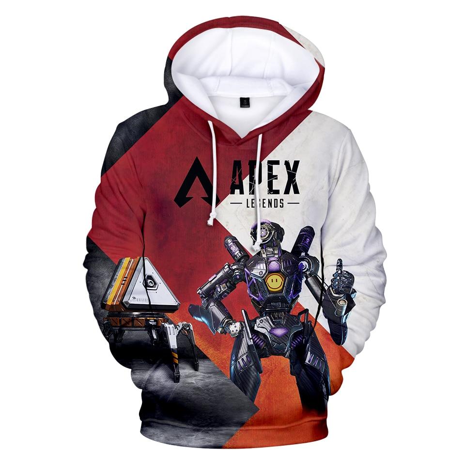 3d Xim Apex Pro Legends Hoodies  Women/Men Long Sleeve Casual Hooded Game Sweatshirts Hot Sale Popular Streetwear Hoodies