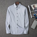 Men's shirts autumn youth  Shirt Size men's casual shirt slim male l Shirt