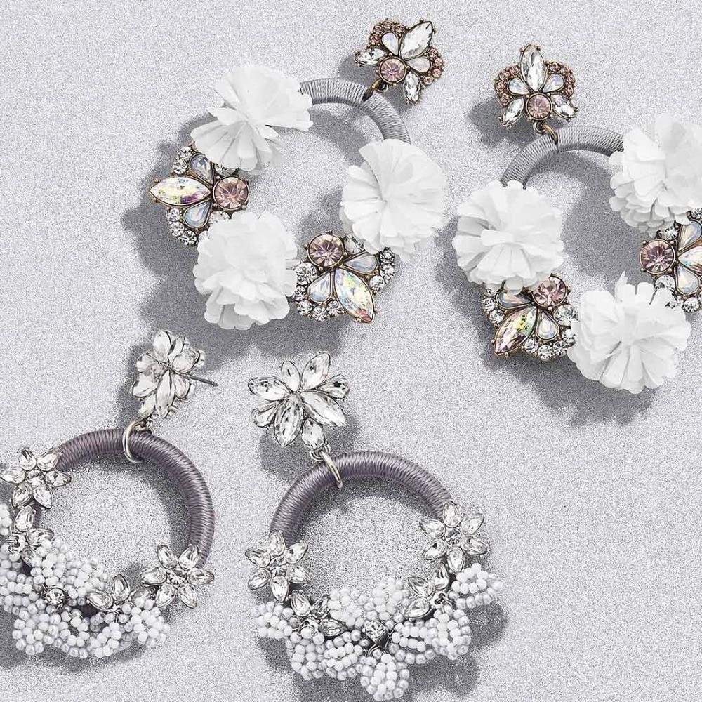 Best Lady Bohemian BA Trendy Handmade Beaded Earrings Jewelry Women Wedding Tassel Fringed Drop Dangle Earring Party Gift Bijoux