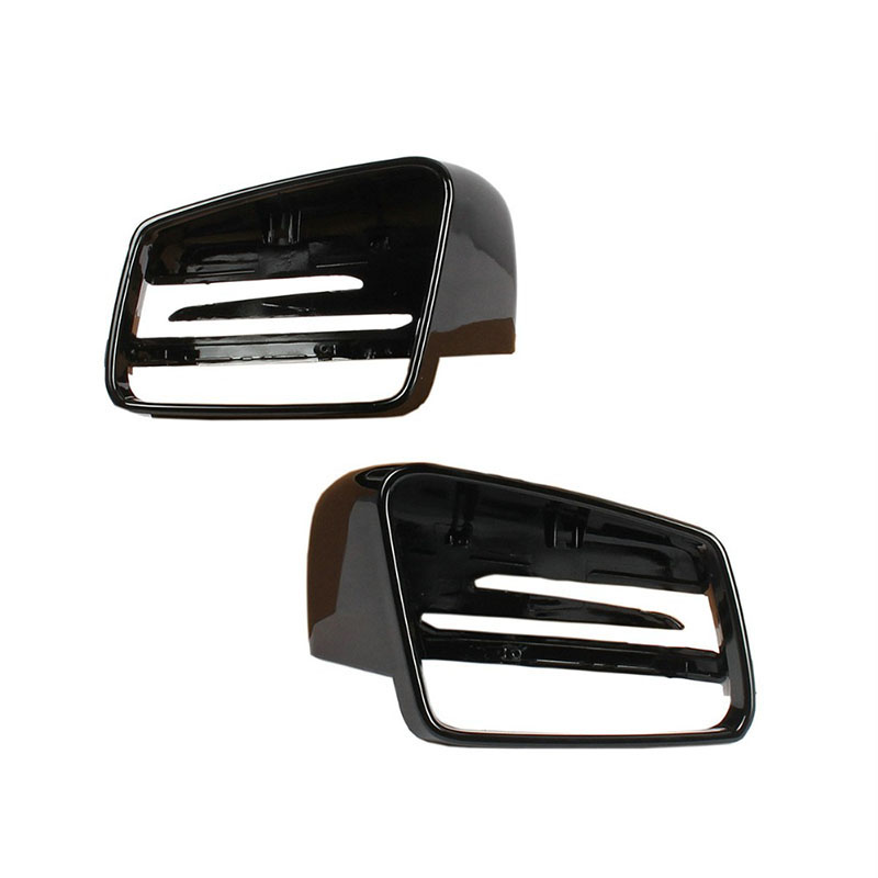 Car Wing Mirror Rearview Black Case Cover Housing L/R For Mercedes-Benz C-Class W176 W246 W204 W212 W221 CLS X156 C117