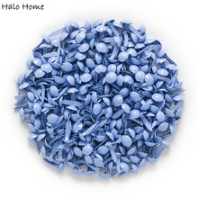 500 Pcss Blue Pastel Round Brads Scrapbooking Embellishment Card Making DIY Home Decor Tools Paper decoration 9x5mm(3/8