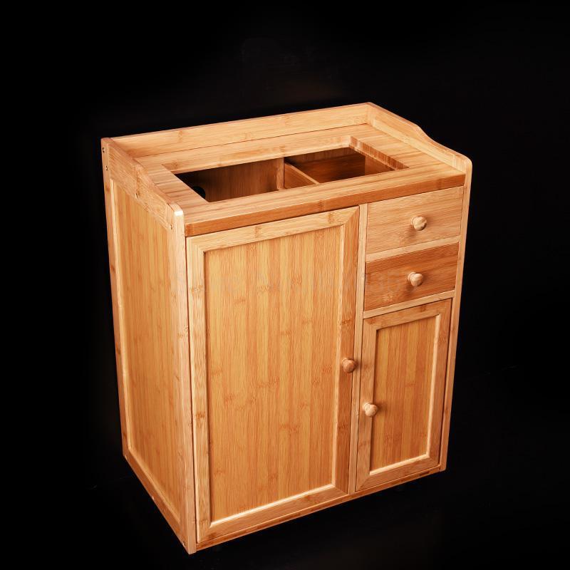 Removable tea racks multi-function small bamboo tea cabinet tea cabinet living room home automatic boiling water tea table - Цвет: VIP 2
