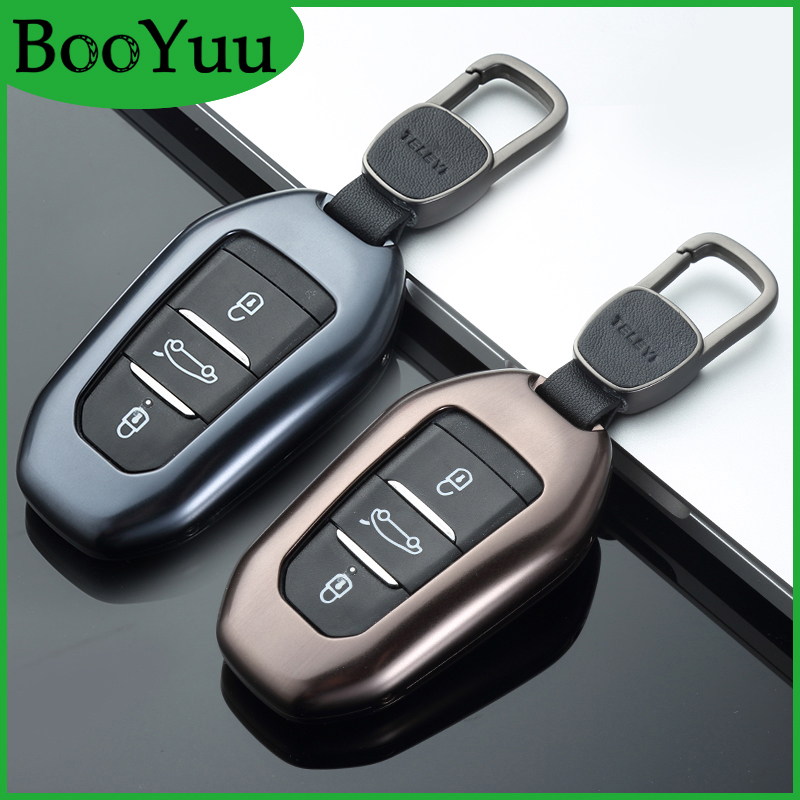Clé à distance Booyuu en alliage d'aluminium pour clé de voiture coque de protection pour citroën C4 Picasso DS3 DS4 DS5 DS6 C5 C6 C6L CACTUS C3XR DS