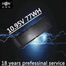 laptop battery for APPLE A1382,020-7134-01,661-5844 MC723LL/A & MC721LL/A A1286 for Macbook Pro 2011 version bateria akku стоимость