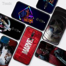 Marvel Superheroes The Avengers Case for Meizu M6T 16Xs 16S 16x 16th 16 Black Silicone TPU Cases Accessories Phone Shell Covers