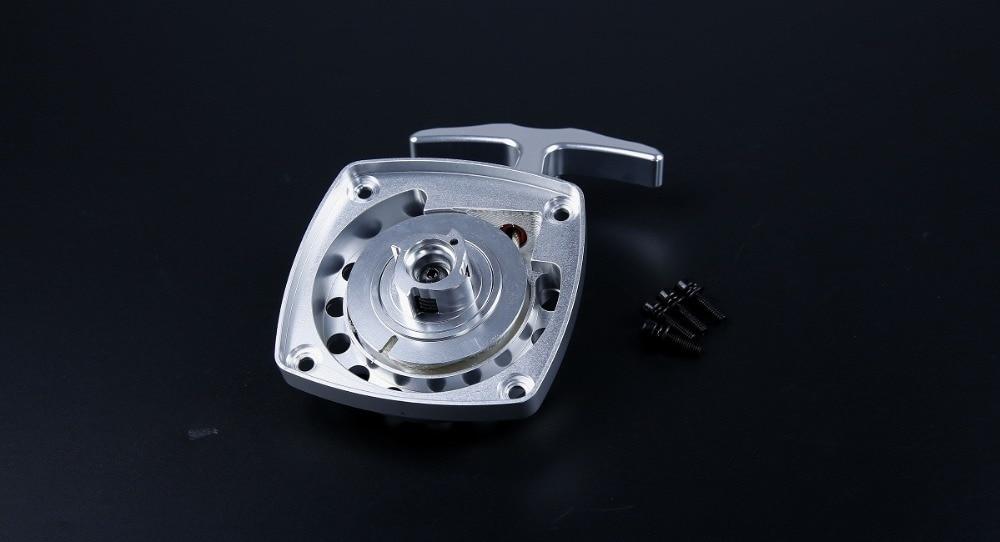CNC métal démarrage facile tirer démarreur fit RV ZENOAH 32cc moteur pour 1/5 HPI Baja 5B 5 T Rovan King moteur - 5