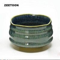 650ml Jingdezhen Matcha Tea Bowl Green Tea Cup Ceramics Handmade Teacup Tea Wash Pottery Kung Fu