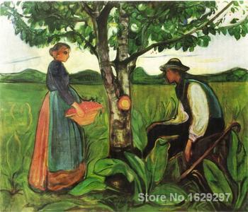 wall art modern Fertility Edvard Munch Paintings Hand painted High quality