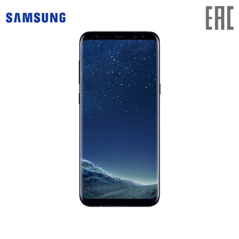 Smartphone Samsung Galaxy S8+ 64GB SM-G955F Mobile Phone 2017 S-series NFC
